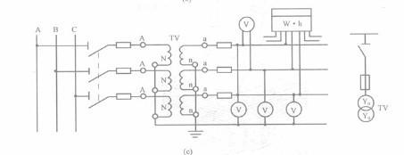 电压互感器的作用,接线图,工作原理图片